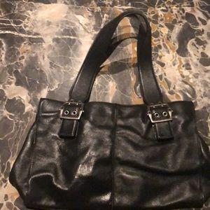 HYPE black leather bag